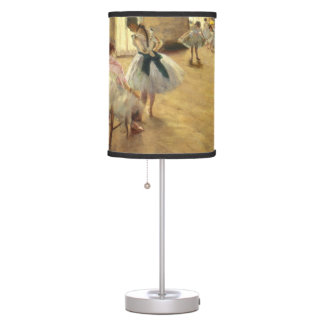 Edgar Degas The Dance Lesson Table Lamp
