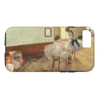 Edgar Degas The Dance Lesson Vintage Fine Art iPhone 8/7 Case