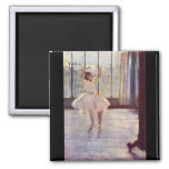 Edgar Degas - The dancer at the photographer 2 Inch Square Magnet