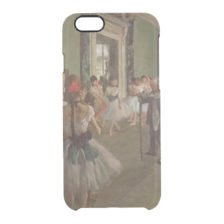 Edgar Degas | The Dancing Class, c.1873-76 Clear iPhone 6/6S Case