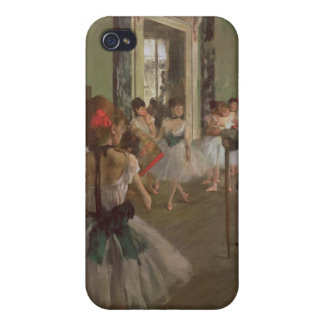 Edgar Degas | The Dancing Class, c.1873-76 iPhone 4 Covers