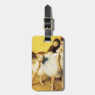 Edgar Degas The Dancing Examination Tags For Luggage