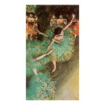 Edgar Degas The Green Dancer Print
