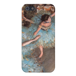 Edgar Degas - The Greens dancers iPhone SE/5/5s Case