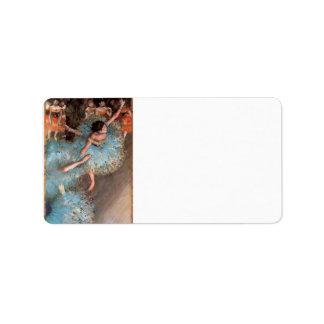 Edgar Degas - The Greens dancers Label