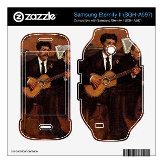 Edgar Degas - The guitarist Pagans and Monsieur De Samsung Eternity II Decal