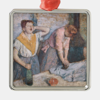 Edgar Degas | The Laundresses, c.1884 Metal Ornament
