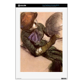 Edgar Degas - The milliner Skin For PS3 Console