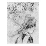 Edgar Degas - The nurse Postcard