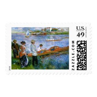 Edgar Degas - The Oarsman Postage Stamps