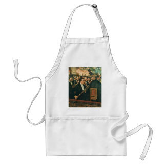 Edgar Degas The Orchestra of the Opera Adult Apron