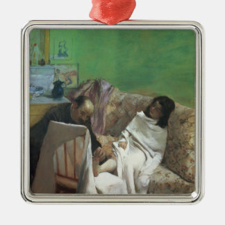 Edgar Degas | The Pedicure, 1873 Metal Ornament