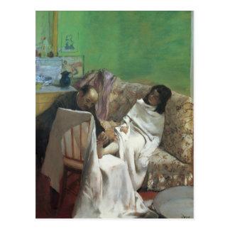 Edgar Degas   The Pedicure, 1873 Postcard