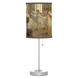 Edgar Degas The Rehearsal Lamps