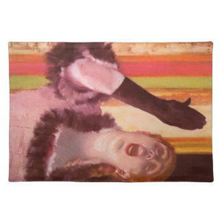 Edgar Degas - The singer with the glove Placemat