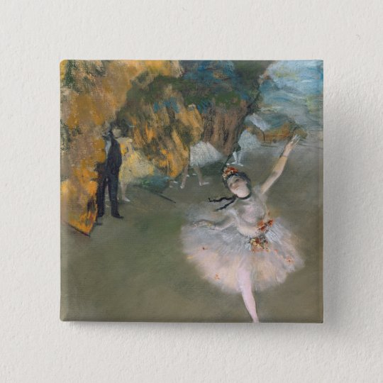 Edgar Degas | The Star, or Dancer on the stage Button