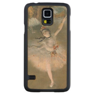Edgar Degas | The Star, or Dancer on the stage Carved Maple Galaxy S5 Case