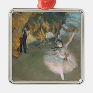 Edgar Degas | The Star, or Dancer on the stage Metal Ornament