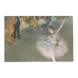 Edgar Degas | The Star, or Dancer on the stage Placemat