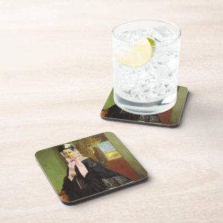 Edgar Degas:Therese de Gas Beverage Coasters