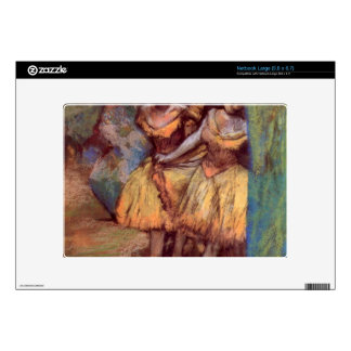 Edgar Degas - Three dancers behind the scenes Skins For Large Netbooks