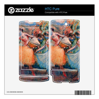 Edgar Degas - Three dancers Decals For The HTC Pure