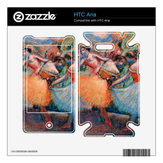 Edgar Degas - Three dancers Decal For The HTC Aria