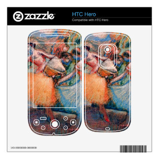 Edgar Degas - Three dancers Decal For The HTC Hero