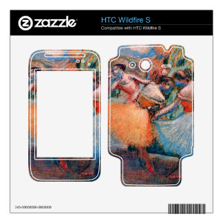Edgar Degas - Three dancers Decals For HTC Wildfire S