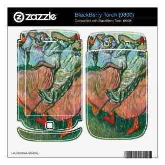 Edgar Degas - Three Russian Dancers Skins For BlackBerry