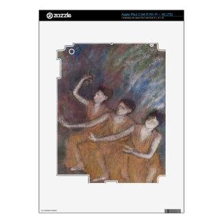 Edgar Degas   Trois Danseuses Decal For iPad 3