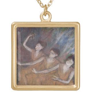 Edgar Degas | Trois Danseuses Gold Plated Necklace