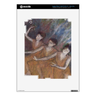 Edgar Degas   Trois Danseuses iPad 3 Decal