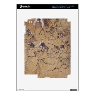 Edgar Degas   Twelve studies of women in costume iPad 3 Decals
