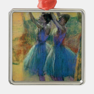 Edgar Degas | Two Blue Dancers Metal Ornament