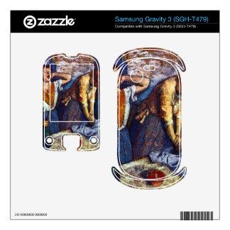 Edgar Degas - Two cleaning women Samsung Gravity 3 Decals