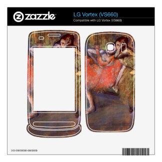 Edgar Degas - Two dancers behind the scenes LG Vortex Skins