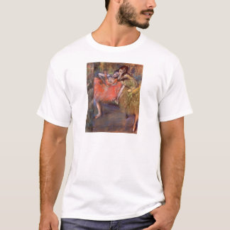 Edgar Degas - Two dancers behind the scenes T-Shirt
