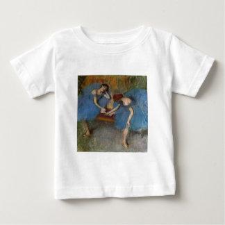 Edgar Degas - Two Dancers Blue Tutu Redhead Dancer Baby T-Shirt