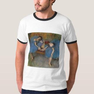 Edgar Degas - Two Dancers Blue Tutu Redhead Dancer T-Shirt