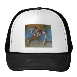 Edgar Degas - Two Dancers Blue Tutu Redhead Dancer Trucker Hat
