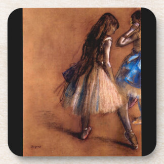 Edgar Degas - Two dancers Beverage Coasters