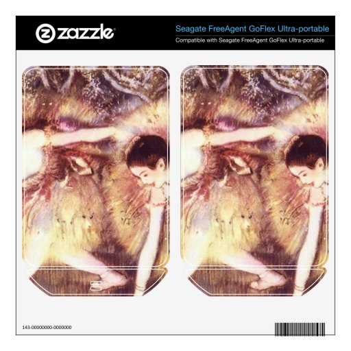 Edgar Degas - Two Dancers FreeAgent GoFlex Decals