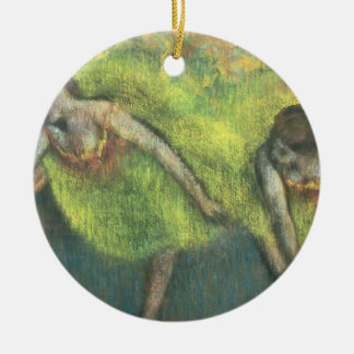Edgar Degas | Two dancers relaxing Ceramic Ornament