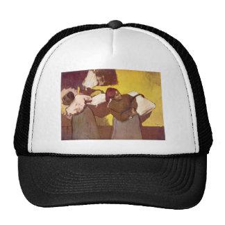 Edgar Degas - Two washer women Mesh Hats