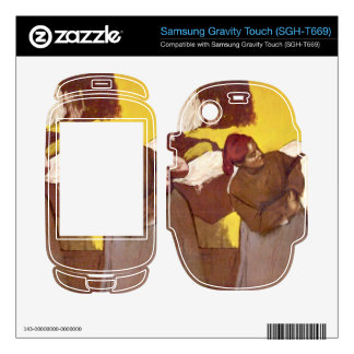 Edgar Degas - Two washer women Samsung Gravity Touch Skins