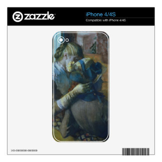 Edgar Degas | Two Women Decal For The iPhone 4