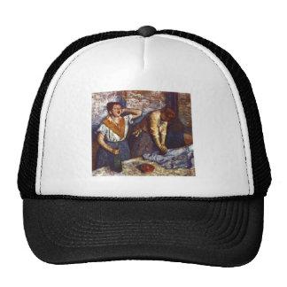 Edgar Degas - Two Women Ironing 1884 oil canvas Trucker Hat