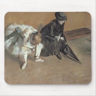 Edgar Degas | Waiting, c.1882 Mouse Pad