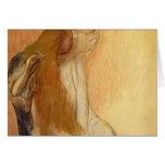 Edgar Degas: Woman Combing Her Hair Cards